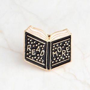 Accessories - 🛑SALE🛑 Read More Book Books Enamel Pin Reading